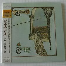 GENESIS - Trespass REMASTERED JAPAN MINI LP CD OBI NEU! VJCP-68091