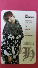 INFINITE H DONG WOO Fly High #3 Official Photo Card Photocard DONGWOO