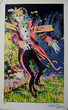 HENRIE SCARE CROW SERIGRAPH SIGNED AP EDITION WITH CERTIFICATE OF AUTHENTICITY