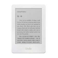 "All-New Kindle E-reader - White, 6"" Glare-Free Touchscreen Display, Wi-Fi Amazon"