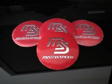 MAZDA MAZDASPEED WHEEL RIMS CENTRE CAP HUB COVER DECAL STICKER MX5 RX7 RX8 MPS