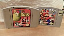 Mario Golf & Mario Tennis (Nintendo 64) set N64 Sports lot