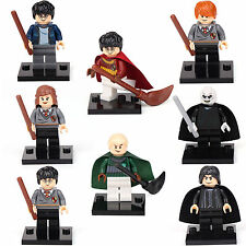 Harry Potter Ron Snap Hermione Malfoy Voldemort 8 Minifigures Building toys lEGO