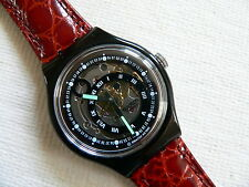 1993  Automatic swatch watch Black Circles  SAB102