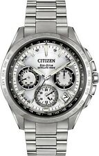 NEW CITIZEN ECO-DRIVE SATELLITE WAVE WORLD TIME F900 CC9010-74A