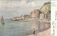 Artist Drawn, Beach From Old Town, HASTINGS, Sussex - F. Emanuel