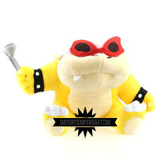 SUPER MARIO BROS ROY KOOPA PELUCHE pupazzo plush bowserotto koopalings bowser jr