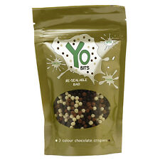 Yo Bits® 3 Colour Chocolate Crispies (+ any other pack for ONLY 25p* Extra P&P)