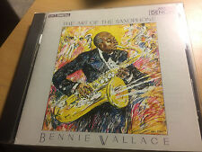 "Bennie Wallace ""The Art of the Saxophone"" JAPAN cd DENON 33CY-1648"