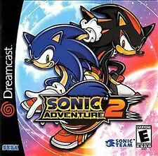 Sonic Adventure 2: The Trial (Sega Dreamcast, 2001) DEMO DISC ONLY. Clean Tested