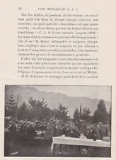 Suisse. Fête Centrale du S. A. C. à Lugano. A. Bernoud.1899.