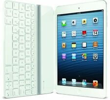 Logitech Ultrathin Bluetooth Wireless White Keyboard iPad mini - French AZERTY