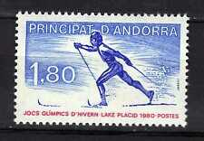 Andorra ( French Post ) : 1980 Olympic Games Lake Placid New ( MNH )