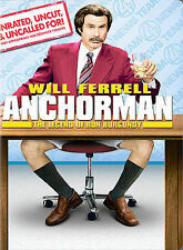 Anchorman - The Legend of Ron Burgundy (Unrated Full Screen Edition), Very Good
