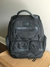 Tumi Alpha 2 Compact Laptop Brief Pack 26173D2 Black Business Backpack