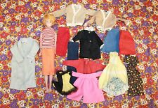 Vintage 1958 Barbie With Assorted Clothing