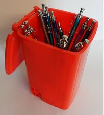 Home Office Desk Organiser Pen Tidy Holder Wheelie Bin Novelty Great Gift