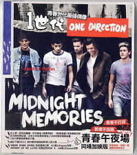 One direction: Midnight Memories (2013)  CD & 4 POSTCARDS TAIWAN