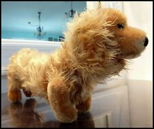 Steiff Carmel Mohair Hand Made in Germany Dachshund Dog Puppy