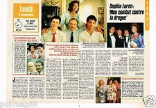 Coupure de presse Clipping 1988 (2 pages) Sophia Loren