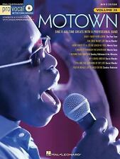 Motown, Pro Vocal Songbook & CD, Men's Edition, Vol. 38 (2008)