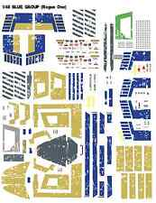 1/48 Bandai X-Wing T-65 Blue Group Star Wars Rogue One Decals