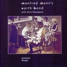 Criminal Tango - Manfred Mann's Earth Band (2011, CD NEUF)