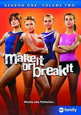 Make It or Break It: First Season 1 One, Vol. 2 Two (DVD, 2011, 2-Disc Set)