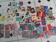 Lot of Disney lion king Pocahontus Aladdin Mickey minnie Donald trading cards