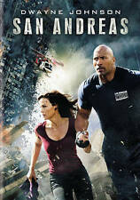 SAN ANDREAS - DEWAYNE JOHNSON   CARLA GUGINO  2015 DISASTER THRILLER DVD
