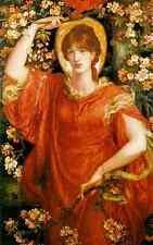 Dante Gabriel Rossetti A Vision Of Fiammetta A4 Print