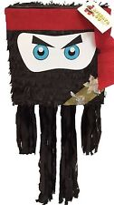 Ninja Piñata Black & Red, Customize Color FREE