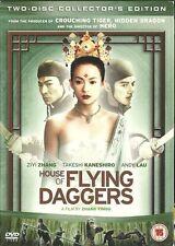 HOUSE OF FLYING DAGGERS DVD (2005) China martial arts drama Ziyi Zhang 2004