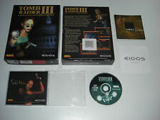 TOMB RAIDER III 3 Pc Cd Rom Original BIG BOX - FAST, SECURE POST