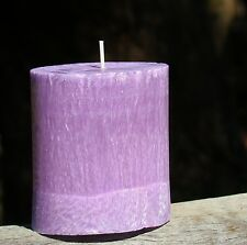 80hr AMAZON LILY & RAIN Triple Scented OVAL CANDLE gifts FREE SHIPPING / POSTAGE