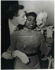 Lucille mapp y Alan White, original de prensa-photo de 1957.