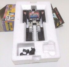 Transformers TF G1 D-101 Black Mini Soundwave Soundblaster Destron 1987 Vintage