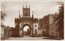 Castle Gate & Clock, BISHOP AUCKLAND, County Durham RP