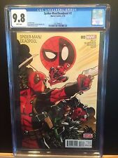 MARVEL 2016 SPIDER-MAN/DEADPOOL #3 CGC 9.8! FIRST APPEARANCE OF MERCS FOR MONEY!