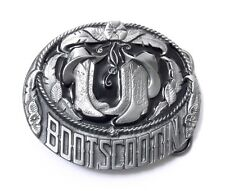 BOOTSCOOTIN BELT BUCKLE 15397 new cowboy hat boot dance western belt buckles