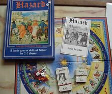 HAZARD HISTORICAL BOARD GAME 1995 OXFORD GAMES CANTERBURY TALES PAST TIMES