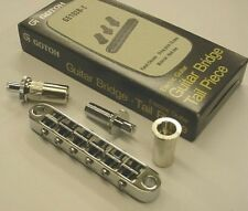Gotoh (Japan) 103 Nashville Bridge Large Posts Chrome GE103B-T