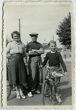 PHOTO ANCIENNE - VÉLO ENFANT BICYCLETTE - BIKE CHILD BICYCLE - Vintage Snapshot