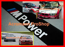 "53"" M Power Windshield Sunstrip Decal Sticker BMW 1 M3 M4 M5 E30 E36 E46 E34 E39"