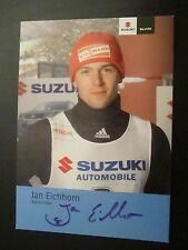 17343 Jan Eichhorn Wintersport original signierte Autogrammkarte