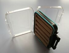 SPECIAL OFFER! SALES! Double Sided Clear View Waterproof FLY BOX Fishing H1106
