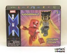 Marvel Minimates Series 5 Juggernaut & Civilian Logan