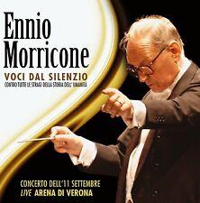 Ennio Morricone VOCI DAL SILENZIO 2CD nuovo sealed Concerto Live Arena di Verona