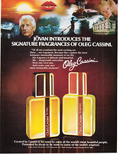 Original Print Ad-1979 JOVAN Introduces The Signature Fragrances of OLEG CASSINI