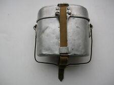 RARE german DAK AFRIKAKORPS WW2 Soldiers canteen mess tin aluminum alloy